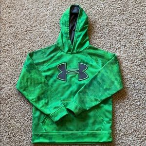 Boys Under Armour Storm hooded sweatshirt, youth M